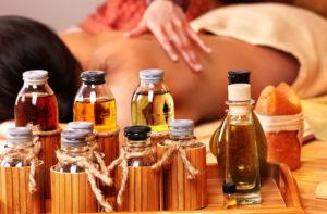 Siam - массаж с использованием арома-масел