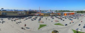 ТРЦ Фантастика ул. Родионова, 187 - Парковка